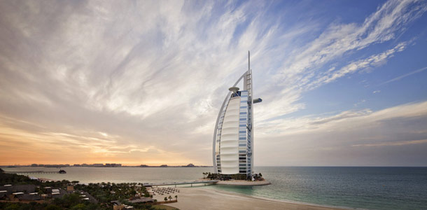 Dubain luksushotelli kuuluu maailman hienoimpien joukkoon