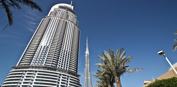 Dubaissa maailman korkein rakennus