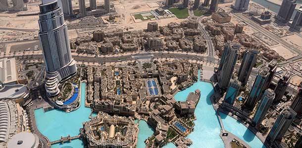 Dubaissa hotellivalikoima on laaja