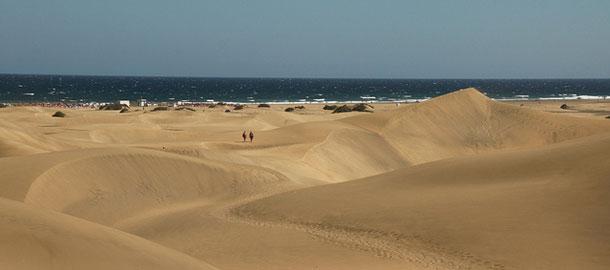 Gran Canaria tunnetaan hiekkadyyneistään