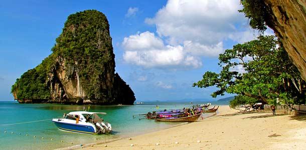 Saaristoretkiä Thaimaan Krabilla