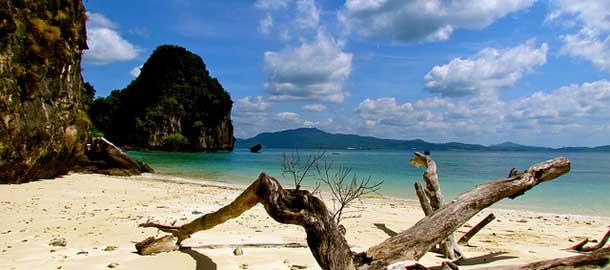 Thaimaan Krabilta löytyy rantoja ja kaupunkitunnelmaa
