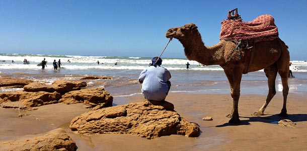 Agadir on Marokon suosituimpia rantakohteita