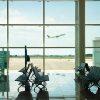 Barcelonan lentokentän odotushalli