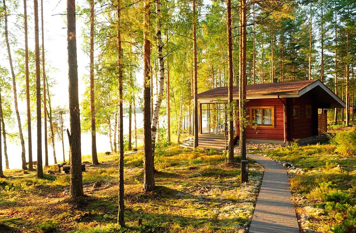Kesämökki Suomessa