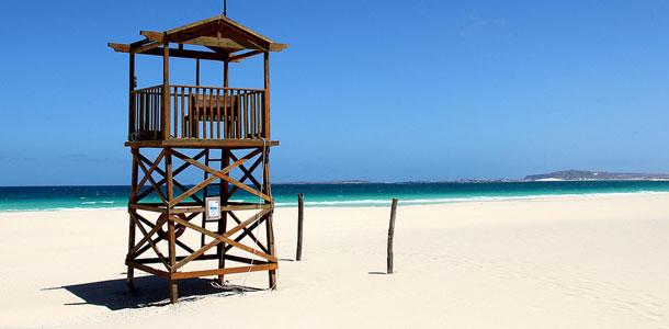 Kap Verdeltä löytyy rauhallisia rantoja