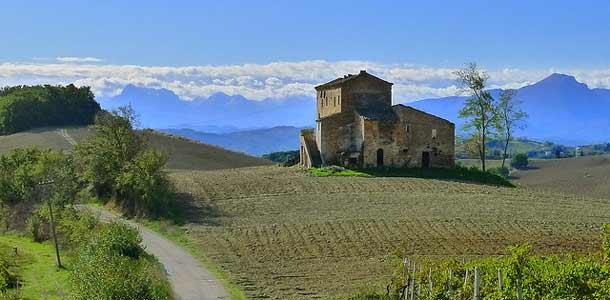 Italian rauhallinen Marche on uusi Toscana