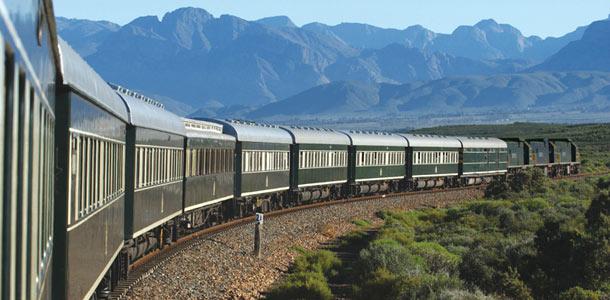 Rovos Rail on junaseikkailu Afrikka