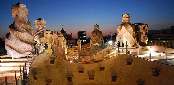 Barcelona tunnetaan Gaudin töistä