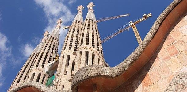 Gaudin tunnetuimmat rakennukset Barcelonassa