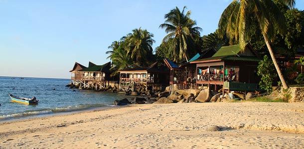Malesian Pulau Tioman on sukeltajien suosikkikohde