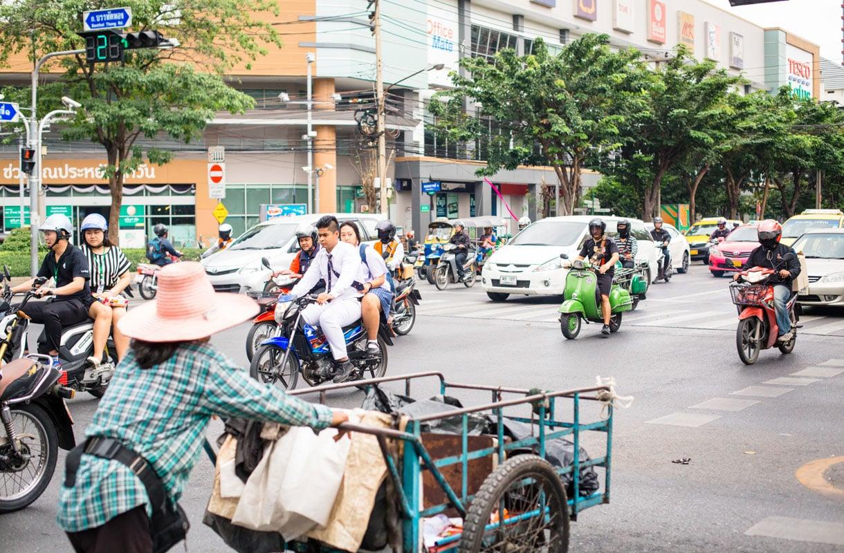 Thaimaan liikenne