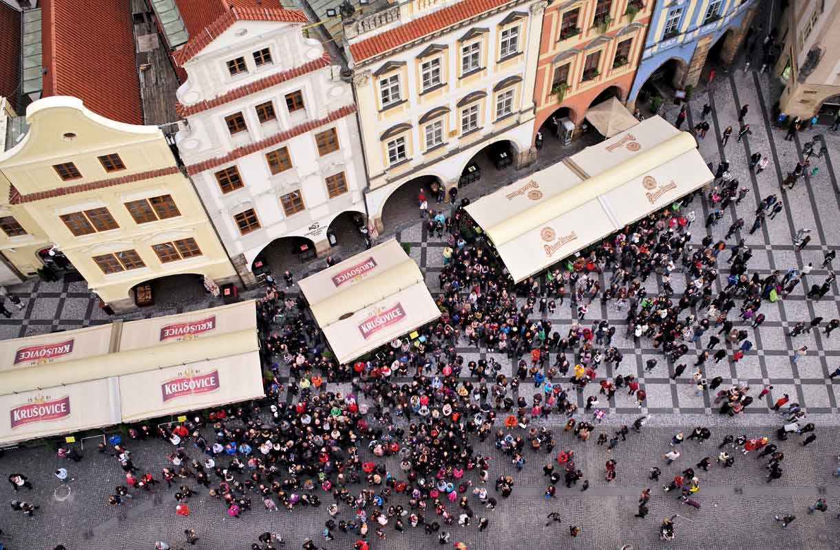 Praha on olutharrastajan unelmakohde.