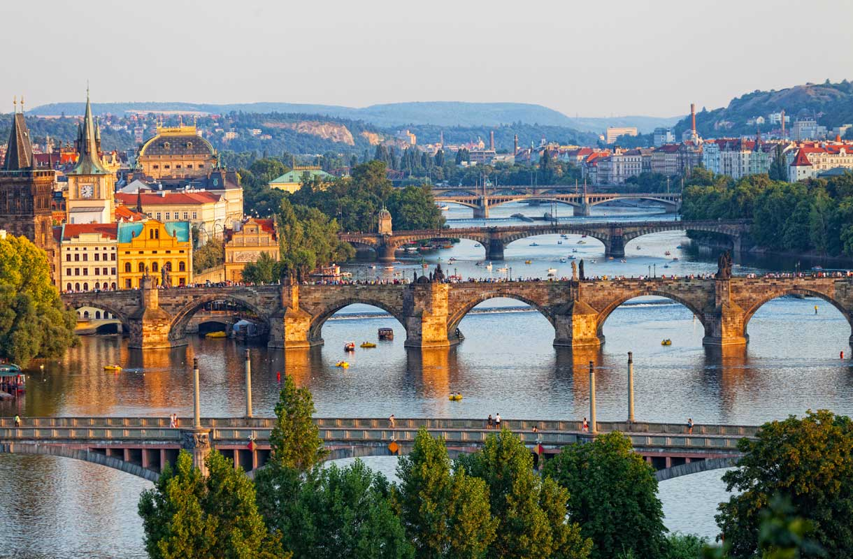 Tsekin Prahaa kutsutaan joskus Euroopan uudeksi Pariisiksi.