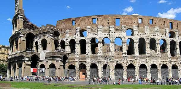 Rooman nähtävyydet