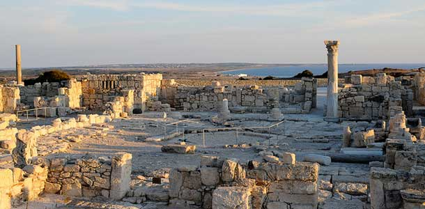 Raunioita Kyproksella