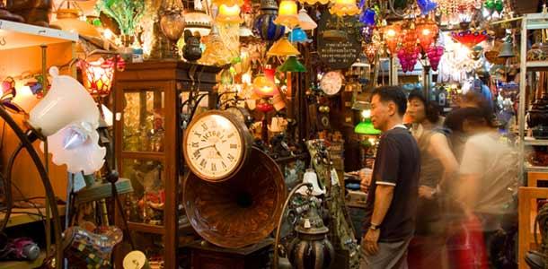 Thaimaan parhaat shoppailupaikat