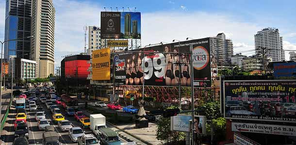 Thaimaassa liikutaan taksilla, tuk-tukilla ja metrolla