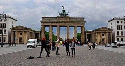 Bloggaajat Brandenburgin portilla