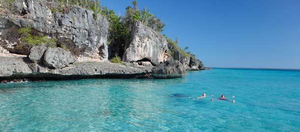 Dominikaanisen tasavallan kirkkaissa vesissä kelpaa uida