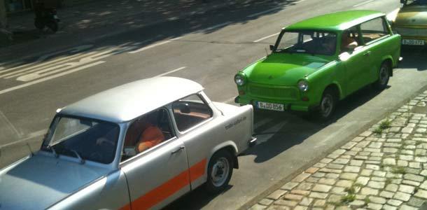 Trabanteja Berliinissä