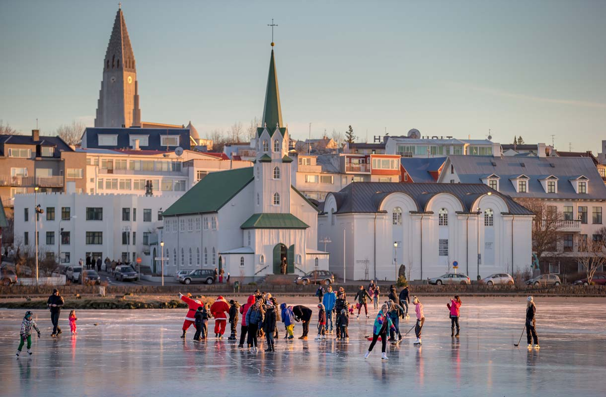 Reykjavik on Islannin ylivoimaisesti suurin kaupunki.