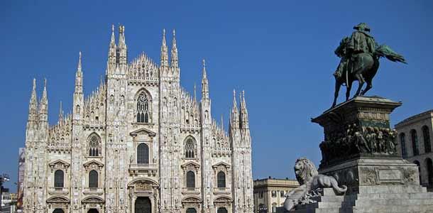 Milanon kuuluisimmat nähtävyydet