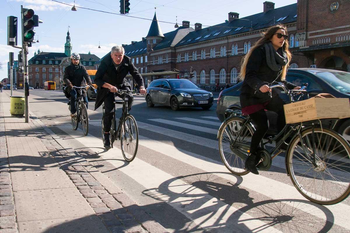 Kööpenhamina tulee tutuksi pyörän selästä.