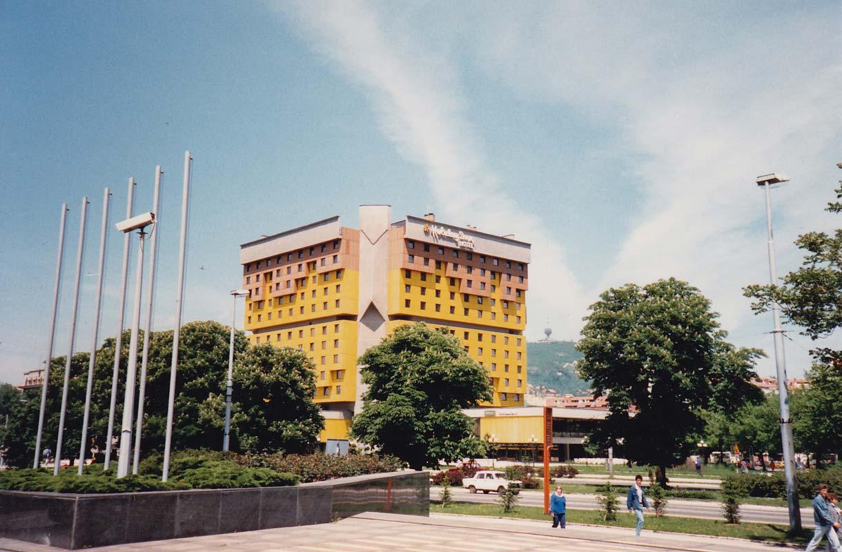 Sarajevon kuuluisin hotelli on Holiday Inn.