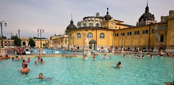 Kylpylät Budapestissa