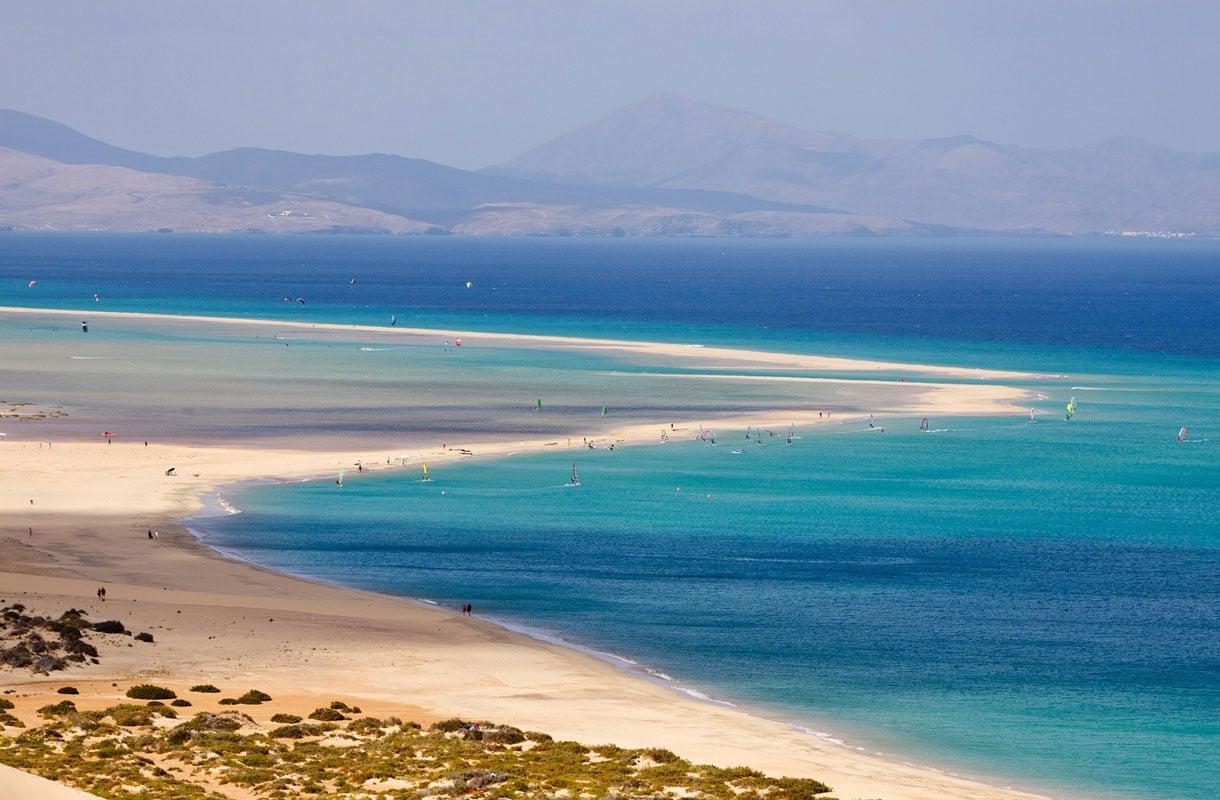 Sotaventon ranta Fuerteventuralla