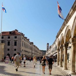 Dubrovnikin vanhakaupunki, Kroatia