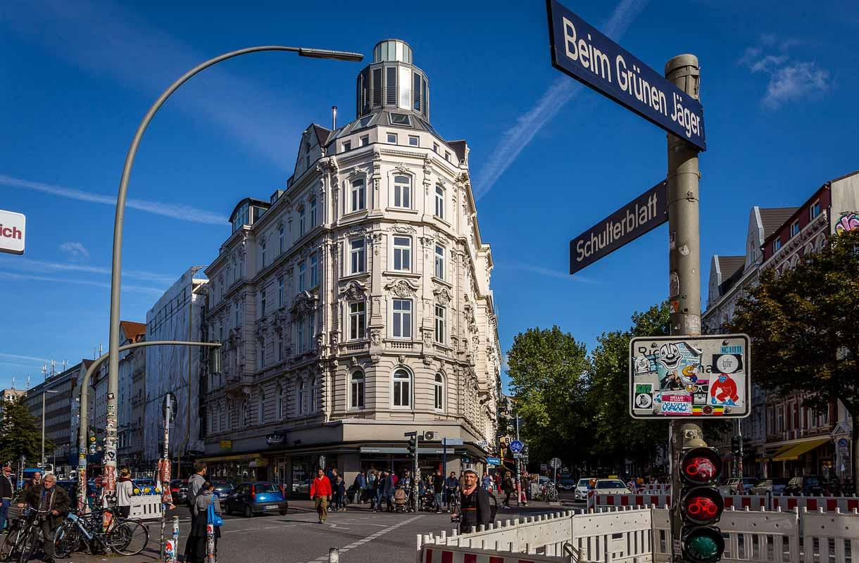 Hampuri on kompakti suurkaupunki.