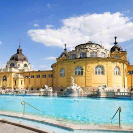 Budapest, Szechenyin kylpylä