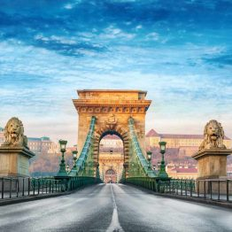 Szechenyin silta, Budapest