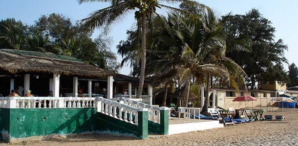 Gambia on myös loistava rantakohde