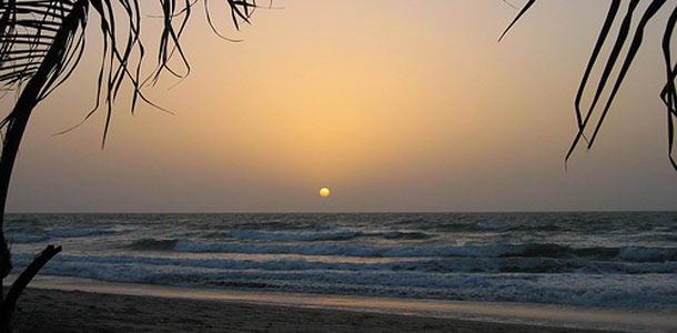 Gambian hiekkaranta