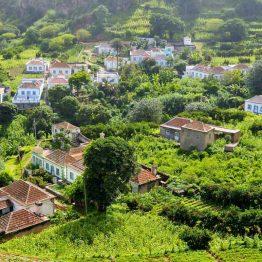 Maalaiskylä Kap Verdellä