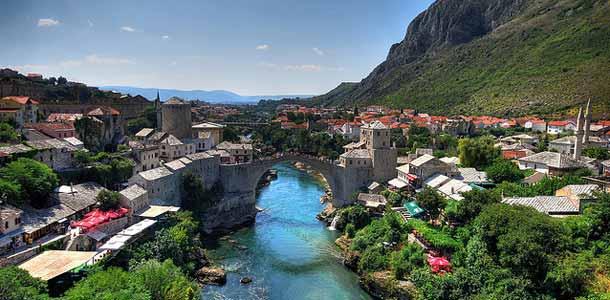 Bosnian suosituimmat lomakohteet