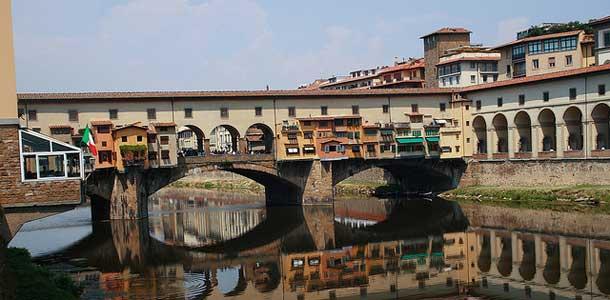 Firenzen kuuluisa silta