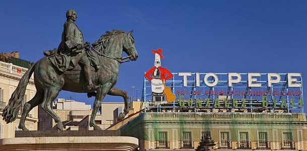 Puerta del Sol Madridissa