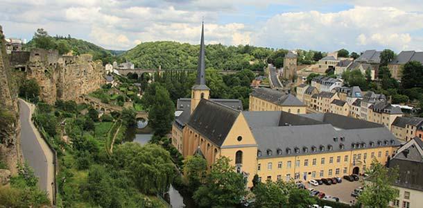 Luontoa ja linnoja Luxemburgissa