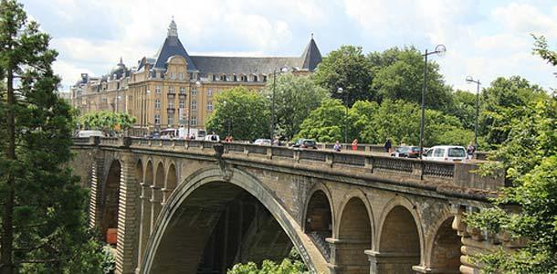 Vihreää luontoa Luxemburgissa