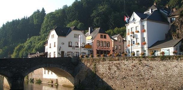 Luxemburgissa jokimaisemia