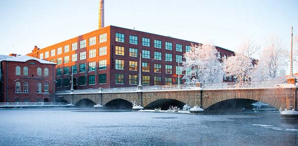 Talvimaisema Tampereella