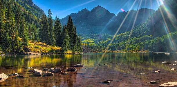 Coloradossa upea luonto