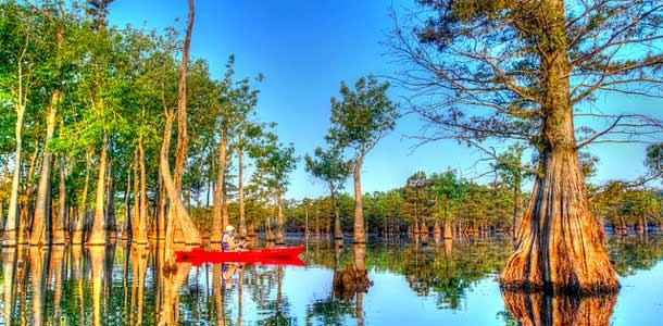 Mississippi luonnon harrastajille