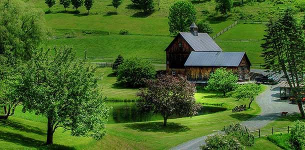 Vermontin suositut pikkukaupungit