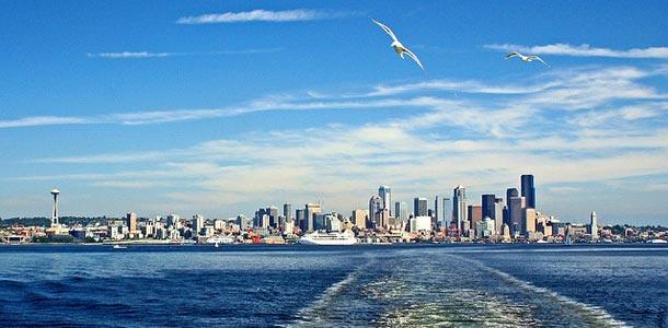 Washingtonin suurin kaupunki on Seattle