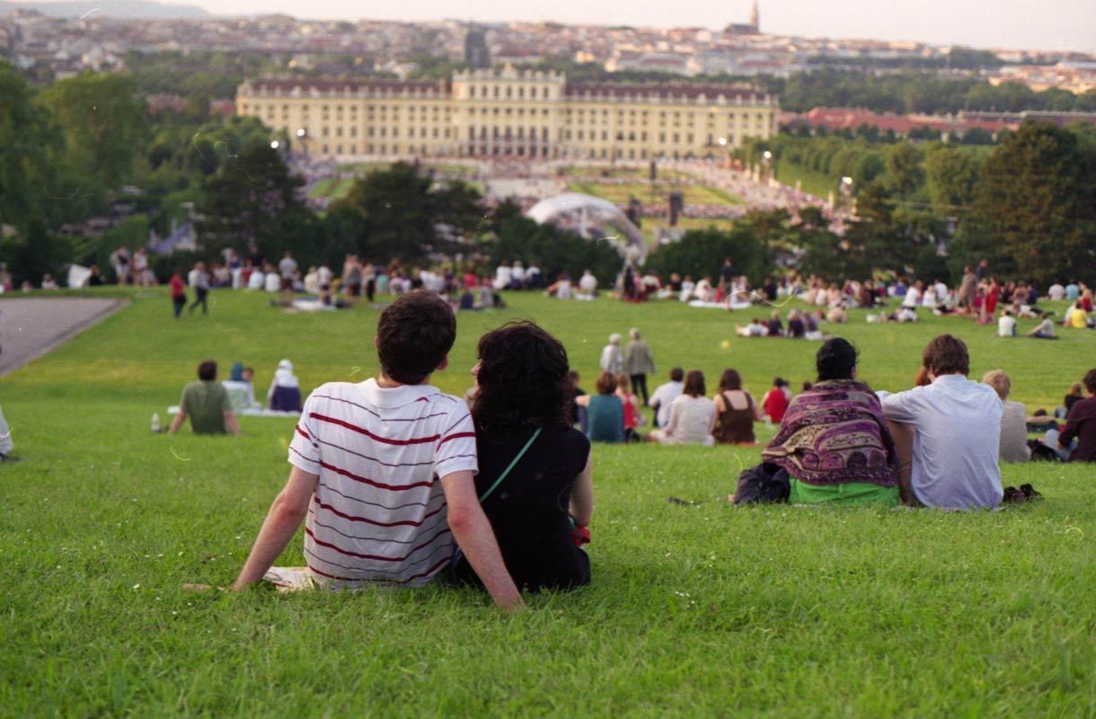 Puisto Wienissä